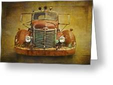 Ih Truck Greeting Card