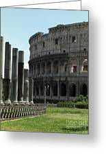 Il Collosseo Greeting Card