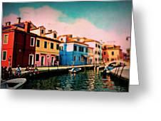 Il Colorato Villaggio Greeting Card