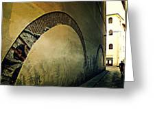 Il Muro  Greeting Card