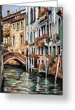 Il Ponte E I Pali Greeting Card