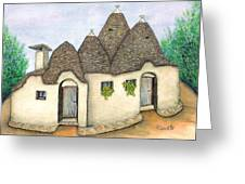 Il Trullo Alberobello Greeting Card