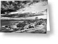 Ile Rousse Tower Greeting Card