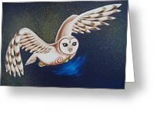 Illuminating The Night Greeting Card
