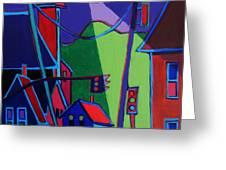 Illumination Chelmsford Center Greeting Card