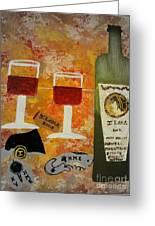 Ilona Wine Greeting Card