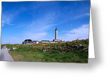 Ils De Batz Lighthouse Greeting Card