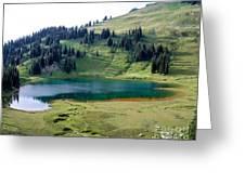 Image Lake  Greeting Card