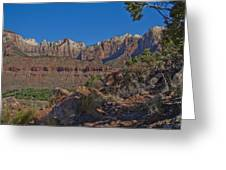 Image Of Zion 02 Greeting Card
