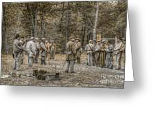 Images Of The Civil War Confederate Soldiers Greeting Card