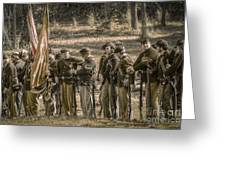 Images Of The Civil War Union Soldiers Greeting Card