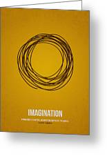 Imagination Greeting Card by Aged Pixel