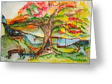 Imagination Place Greeting Card
