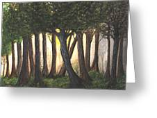 Imagined Forest Greeting Card