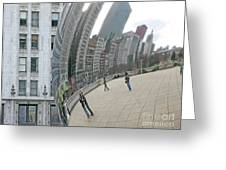 Imaging Chicago Greeting Card