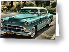Img 8462_ Chevy Bellaire Greeting Card