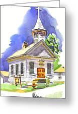 Immanuel Evangelical Lutheran Church Pilot Knob Missouri Greeting Card