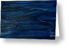 Immense Blue Greeting Card