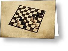 Immortal Chess - Kasparov Vs Topalov 1999 Greeting Card