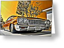 Impala Love Greeting Card
