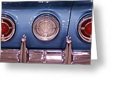 Impala Tail Lights Greeting Card