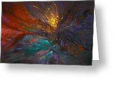 Impatiens Explosion Greeting Card