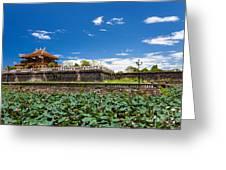 Imperial City Hue Vietnam Greeting Card