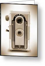 Imperial Reflex Camera Greeting Card
