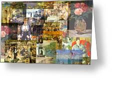 Impressionism 1870s To Begin Xxth Century Greeting Card