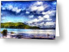 Impressionist Allatoona 2 Greeting Card