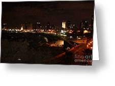 Jaffe At Night Greeting Card