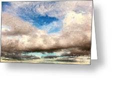 Impressionist Landscape Paintings Greeting Card by Boon Mee