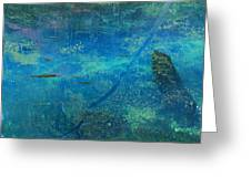 Impressionist Trout Greeting Card