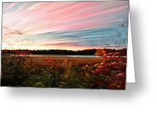 Impressionistic Autumn Greeting Card