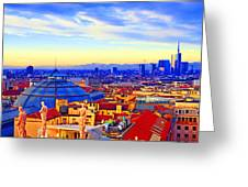 Impressionistic Photo Paint Gs 011 Greeting Card by Catf