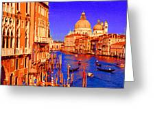 Impressionistic Photo Paint Gs 014 Greeting Card