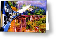 Impressionistic Photo Paint Gs 016 Greeting Card by Catf
