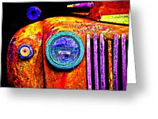 impressionistic photo paint GS 019 Greeting Card by Catf