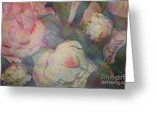 Impressionistic Spring Bouquet Greeting Card