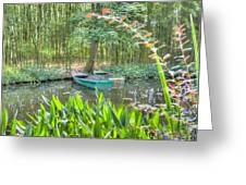 Impressions Of Monet Greeting Card