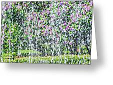 Impressions Of Spring 4 Greeting Card