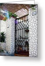 In Capri Greeting Card by Julie Palencia