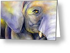 In Captivity Greeting Card