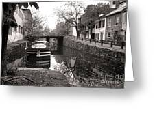 In Georgetown Greeting Card by Olivier Le Queinec