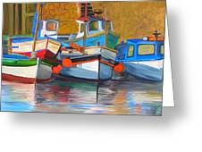 In Harbor Greeting Card