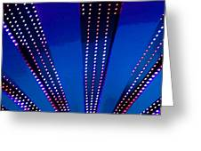 In Lights Abstract Greeting Card