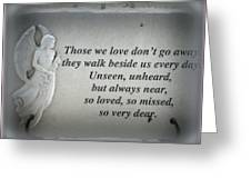 In Memory Greeting Card