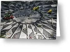 In Memory Of John Lennon - Imagine Greeting Card