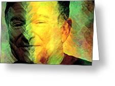 In Memory Of Robin Williams Greeting Card