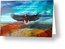 In Memoryof Armed Forces Greeting Card